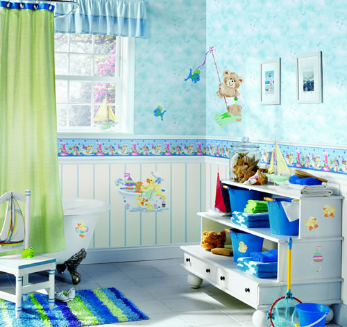 Colorful kids bathroom designs my desired home - Kids bathroom design ...