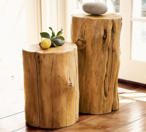 Tree Stump Wall Decor : Original tree stumps decor ideas my desired home