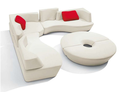 Cool cloud sofa for modern interios my desired home - Mobile homes in greece practical solutions for perfect holidays ...