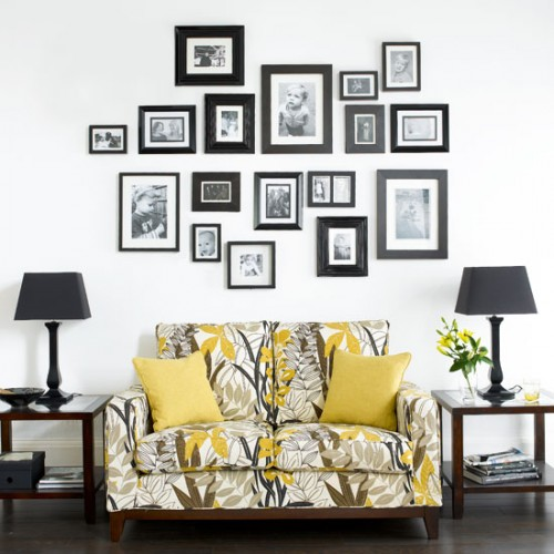 Ideas to decorate walls with pictures my desired home - Creative wall decor ideas ...