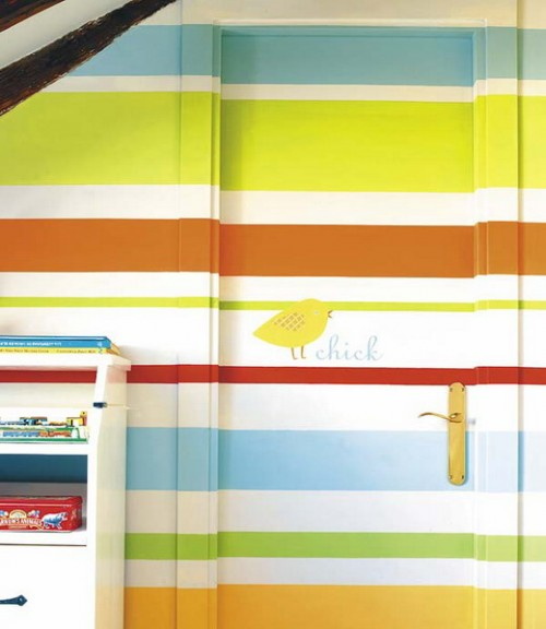 Wall Painting Ideas Stripes : Painting stripes on the wall ideas my desired home
