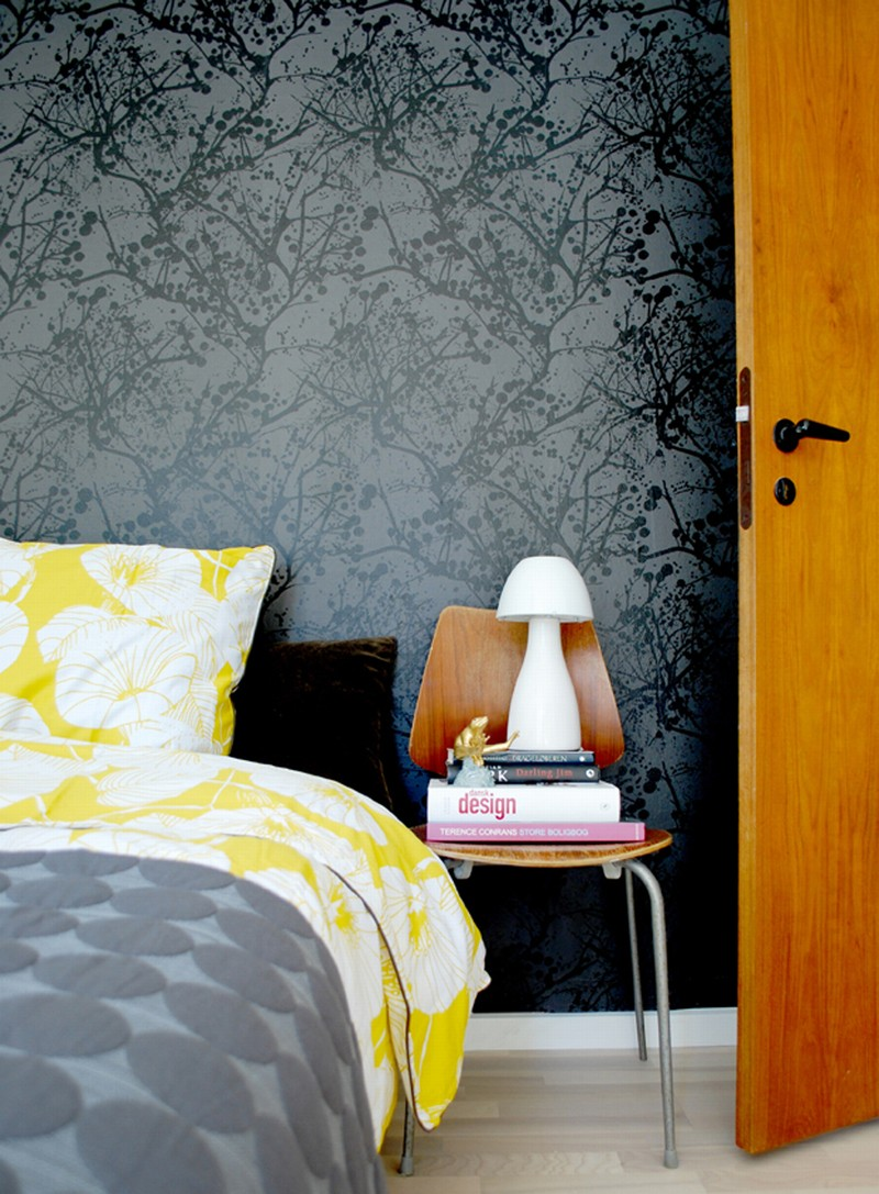 Wallpaper decoration ideas by ferm living my desired home for Wallpaper decorating ideas