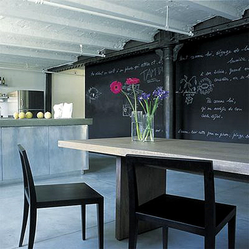 Home Design Ideas Blackboard: Chalkboard Decoration Ideas For Your House