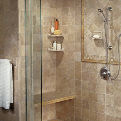 Bathroom on Bathroom Tile Decoration Ideas   My Desired Home