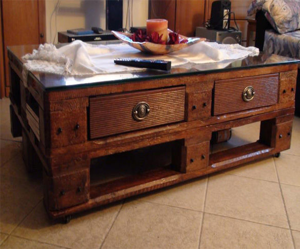 Diy palets ideas-coffee table