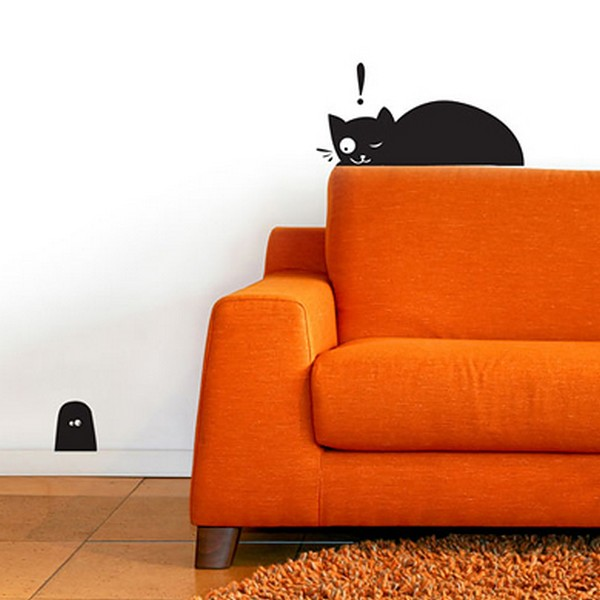 Wall stickers for animal lovers