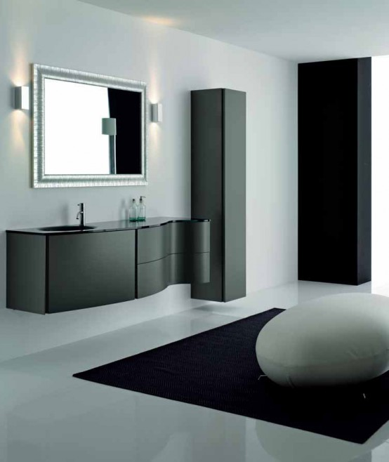 Bathroom Design Inspirations In Black And White My Desired Home