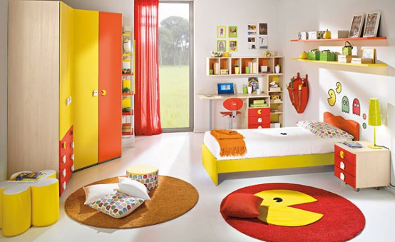 Happy and colorful kids rooms design ideas my desired home for Kids room layout ideas