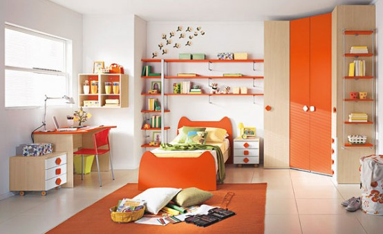 Colorful Kids Room Design: Happy And Colorful Kids Rooms Design Ideas