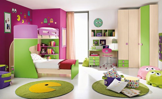happy and colorful kids rooms design ideas my desired home - Rooms Design Ideas