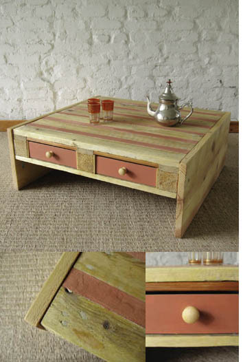 Furniture pieces you can make from pallets my desired home for Pallet coffee table instructions