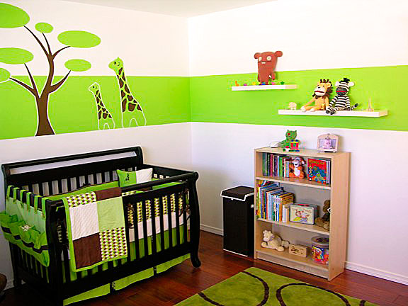 Modern baby rooms decorations my desired home for Simple nursery design