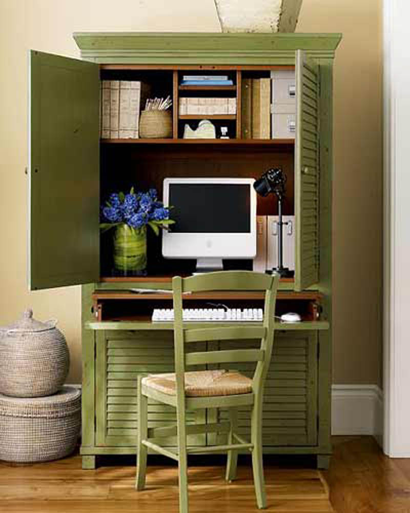 Quick ideas for small spaces my desired home - Small space home office furniture ideas ...