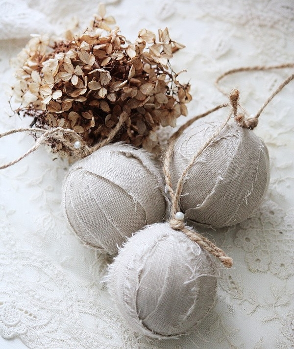Vintage ideas for Christmas ornaments