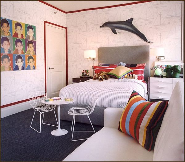 children-dolphin-bedroom