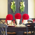 Christmas decoration ideas with flowers