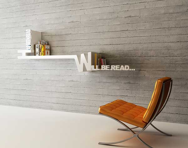 Great design shelf by Mebrure Oral