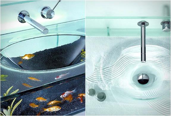 Bathroom Aquarium Sink From Italbrass My Desired Home