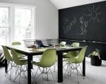 Blackboard dining room decorating ideas