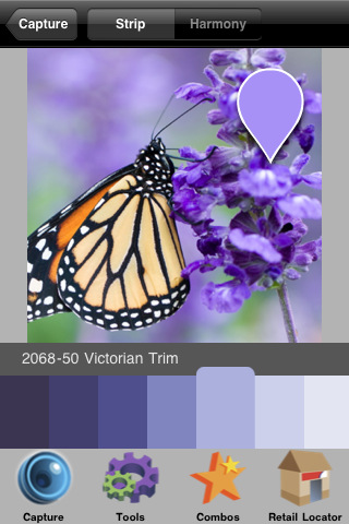 Color Capture from Benjamin Moore & Co