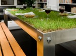Cool grass table