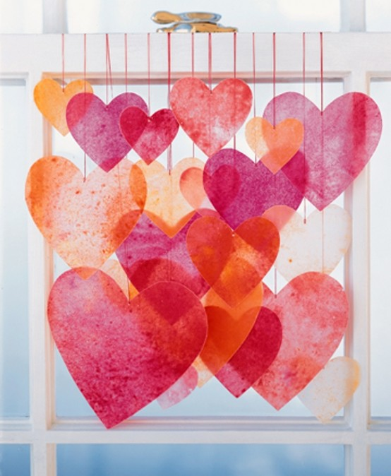 Best decoration ideas for valentine 39 s day my desired home for Heart decoration ideas
