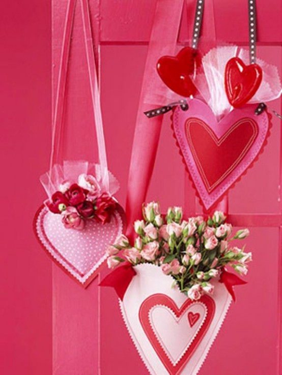 Best decoration ideas for valentine 39 s day for Heart decorations for the home