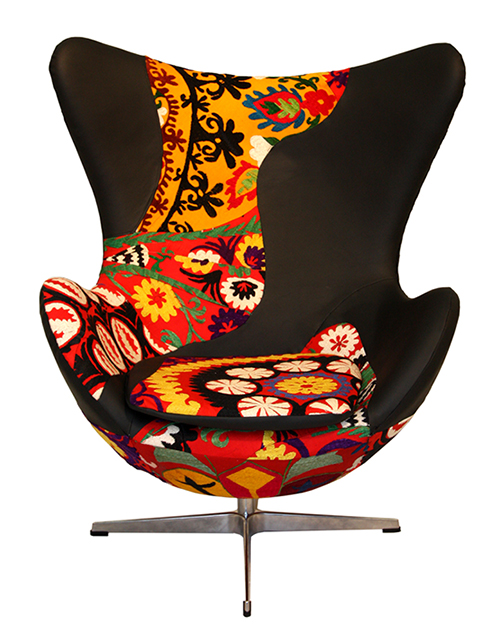 Modern Colorful Chairs From KMP