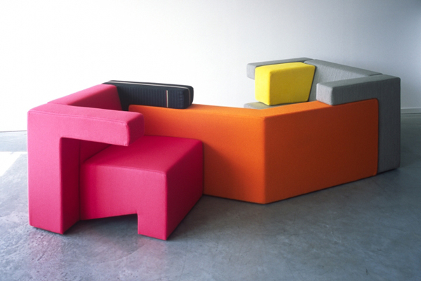 Modular furniture collection: To Gather by Studiolawrence  My desired ...