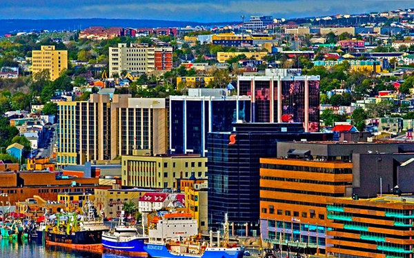 colorful cities of the world St. John's, Newfoundland