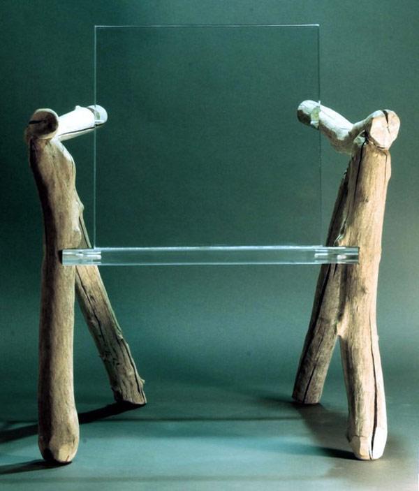 Уникален стол за всекидневната