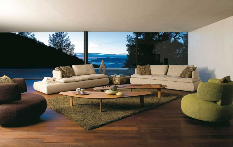 25 excellent sofas from roche bobois my desired home. Black Bedroom Furniture Sets. Home Design Ideas