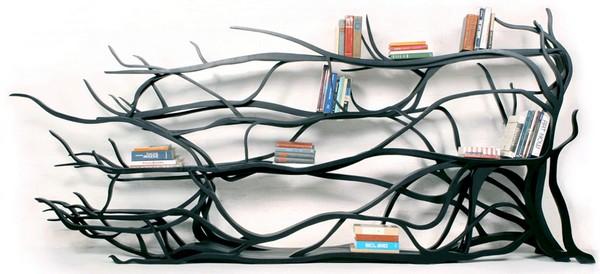 Handmade library by Sebastian Errazuriz