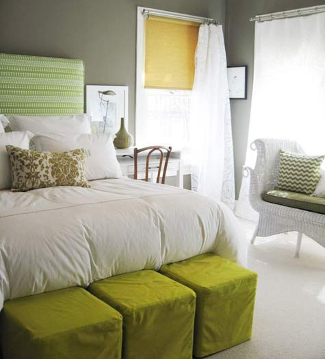 Sophisticated Combination Of Green And Gray My Desired Home