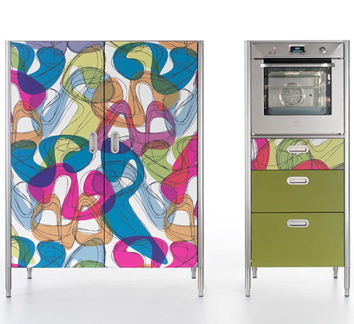 colorful Kitchen appliances by Karim Rashid