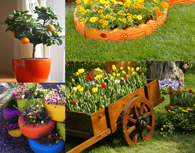 Unique garden decor ideas photograph and summer un for Fun garden decoration ideas