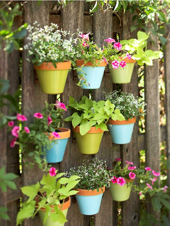 Spring and Summer - Unique ideas for decorating garden, patio ...