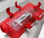 Kitchen dining table Astrolab by Roche Bobois
