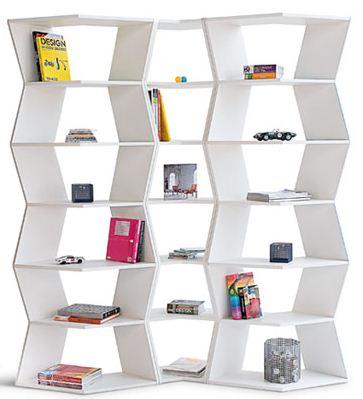 Zig Zag modular bookcase6