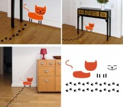 The Cat Pads wall stickers