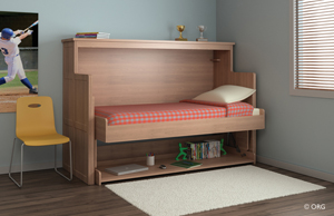 The innovative ORG desk bed _1