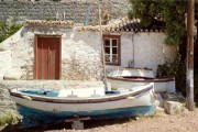 old fishing house in Hydra
