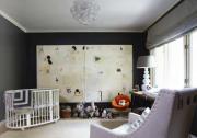 Black nursery room inspiration ideas3