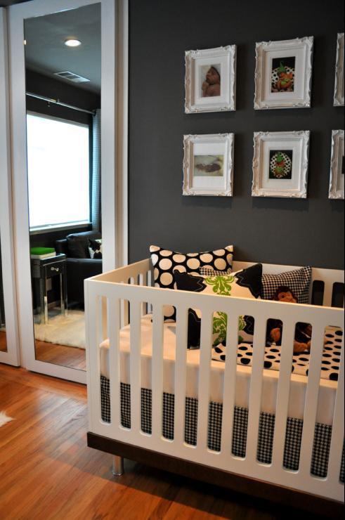 Black nursery room inspiration ideas | My desired home