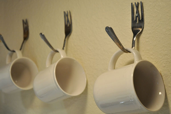 Charmant Decorative Ideas With A Fork1