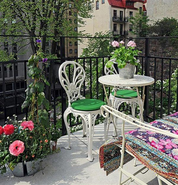 Best balcony decoration ideas my desired home for How to decorate a small balcony