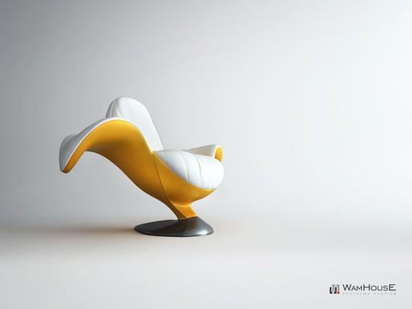 banana armchair
