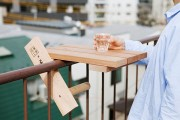 sky deck table for small balconies