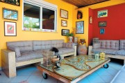 Amazing colorful penthouse in Kastela Piraeus
