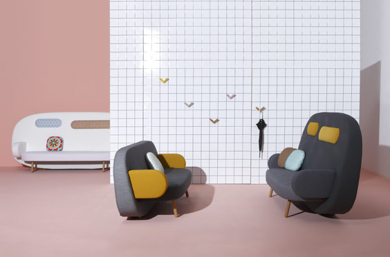 new sofa collection by karim rashid